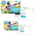 Adolescent Counseling & Mental Health Postcard Design