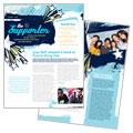 Child Advocates Newsletter Designs