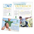Christian Church Flyer & Ad Design