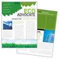 Environmental Non-Profit Newsletter Design