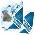 Ski & Snowboard Instructor Poster Design