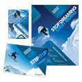 Ski & Snowboard Instructor Flyer & Ad Design