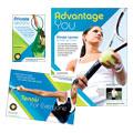 Tennis Club & Camp Flyer & Ad Designs