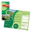 Golf Tournament Brochure Design