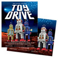 Holiday Toy Drive Poster Design
