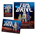 Holiday Toy Drive Flyer & Ad Design